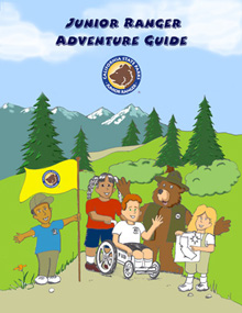 Cover of Junior Ranger Adventure Guide (English)
